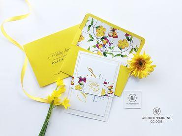 Luxury Wedding Invitations – Thiệp cao cấp - An Hieu Wedding - Hình 4