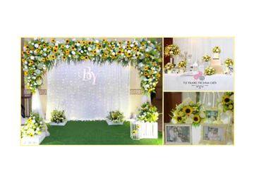 Combo cưới tiết kiệm chủ đề Hoa Hướng Dương - Tự Trang Trí Đám Cưới - Hình 1