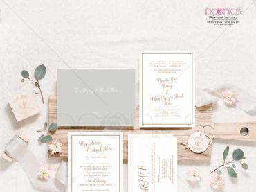 Thiệp cưới Thiết kế - Peonies - Thiệp cưới Thiết kế - Hình 7