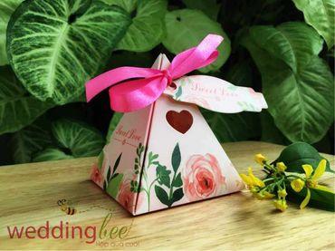 Big Sale - Chỉ 3k/set, Tặng 50% phí thank tag - Hộp quà cưới - Wedding Bee - Hình 4