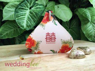 Big Sale - Chỉ 3k/set, Tặng 50% phí thank tag - Hộp quà cưới - Wedding Bee - Hình 9