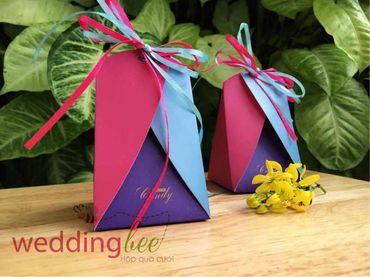 Big Sale - Chỉ 3k/set, Tặng 50% phí thank tag - Hộp quà cưới - Wedding Bee - Hình 5