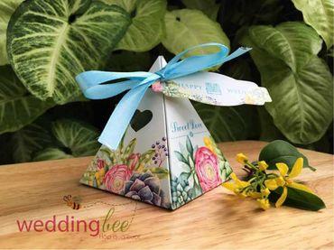 Big Sale - Chỉ 3k/set, Tặng 50% phí thank tag - Hộp quà cưới - Wedding Bee - Hình 10