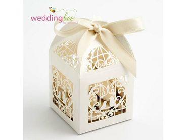 Hộp quà cưới cao cấp lồng chim - Hộp quà cưới - Wedding Bee - Hình 1
