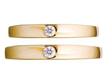 Nhẫn cưới PNJ Chung đôi vàng 18K đính đá ECZ - Vàng bạc đá quý Phú Nhuận - PNJ - Hình 5
