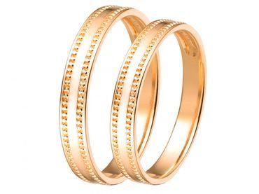 Nhẫn cưới PNJ Sánh duyên vàng 18K - Vàng bạc đá quý Phú Nhuận - PNJ - Hình 1