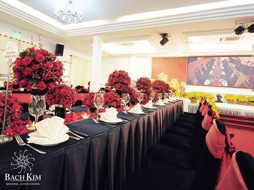 Trọn gói tiệc cưới hoàn hảo - Nhà hàng tiệc cưới Bạch Kim - Hình 32
