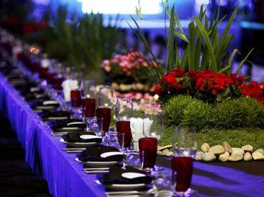 Phong cách cưới hiện đại với bàn tiệc dài - Riverside Palace - Hình 9
