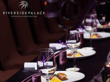 Phong cách cưới hiện đại với bàn tiệc dài - Riverside Palace - Hình 7