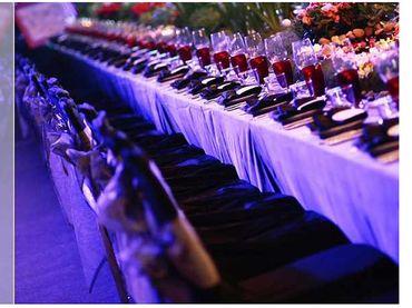 Phong cách cưới hiện đại với bàn tiệc dài - Riverside Palace - Hình 10