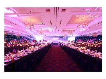 Phong cách cưới hiện đại với bàn tiệc dài - Riverside Palace - Hình 1