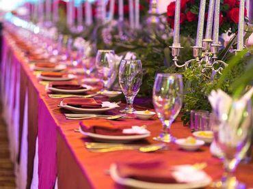 Phong cách cưới hiện đại với bàn tiệc dài - Riverside Palace - Hình 21