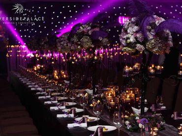 Phong cách cưới hiện đại với bàn tiệc dài - Riverside Palace - Hình 24
