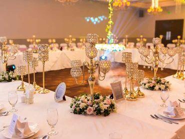 Phong cách cưới hiện đại với bàn tiệc dài - Riverside Palace - Hình 63