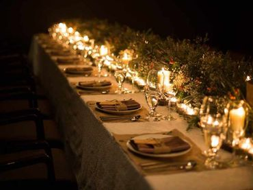 Phong cách cưới hiện đại với bàn tiệc dài - Riverside Palace - Hình 58