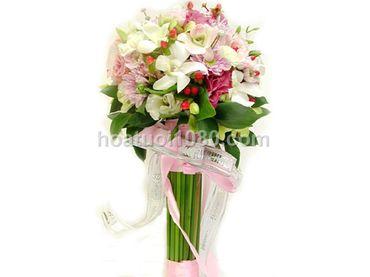 Hoa cầm tay cô dâu - Hoa Tươi 1080 ( 1080 Flowers ) - Hình 7