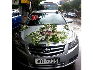 Xe hoa cưới - Hoa Tươi 1080 ( 1080 Flowers ) - Hình 2