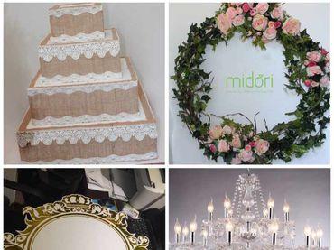 Phụ kiện trang trí ngành cưới giá sỉ - Midori Shop - Phụ kiện trang trí ngành cưới - Hình 145