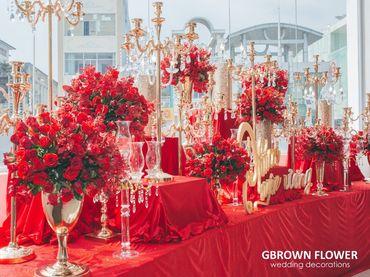 Gói trang trí cưới PASSIONATE LOVE - GBrown Flower - Hình 7
