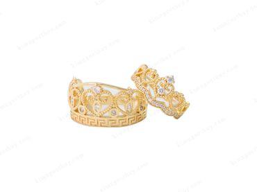 Nhẫn cưới Catalogue nước ngoài - Nhẫn Cưới Kim Ngọc Thủy - Hình 6