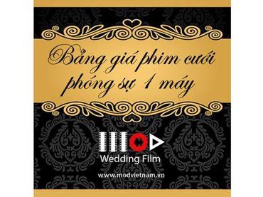 Gói quay phim cưới phóng sự - 1 máy - Mod Productions - Hình 1