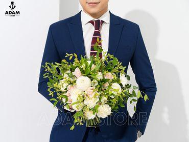 Vest cưới xanh tím than - Adam Store - Hình 2