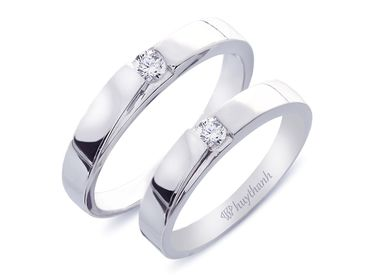 Nhẫn cưới Le Soleil NC 62 - Huy Thanh Jewelry - Hình 4