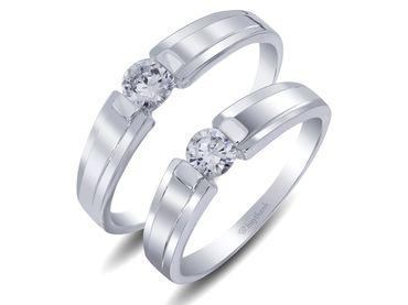 Nhẫn cưới Le Soleil NC 101 - Huy Thanh Jewelry - Hình 1