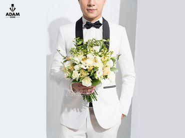 Vest cưới trắng cổ sam - Adam Store - Hình 2