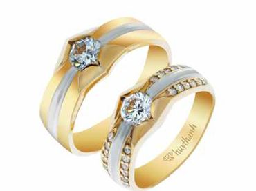 Nhẫn cưới La Nuit NC 28 - Huy Thanh Jewelry - Hình 1