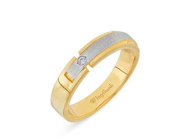 Nhẫn cưới Le Soleil NC 107 - Huy Thanh Jewelry - Hình 3