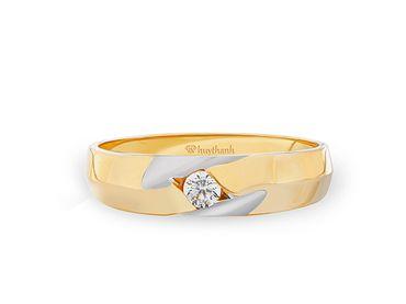 Nhẫn cưới Le Soleil NC 131 - Huy Thanh Jewelry - Hình 3