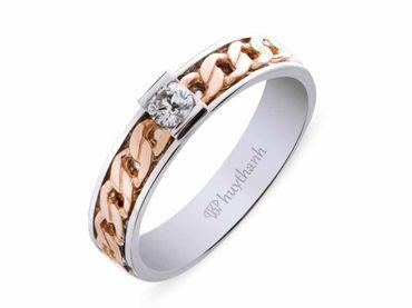 Nhẫn cưới Le Soleil NC 184 - Huy Thanh Jewelry - Hình 3