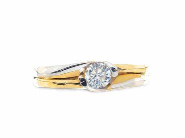Nhẫn cưới Le Soleil NC 207 - Huy Thanh Jewelry - Hình 3