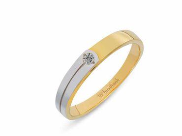Nhẫn cưới Le Soleil NC 218 - Huy Thanh Jewelry - Hình 3