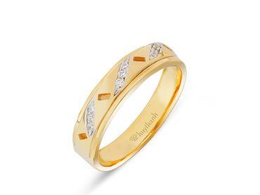 Nhẫn cưới Les Etoiles NC 245A - Huy Thanh Jewelry - Hình 4