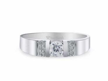 Nhẫn cưới La Nuit NC 291 - Huy Thanh Jewelry - Hình 3