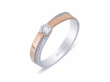Nhẫn cưới La Nuit NC 302 - Huy Thanh Jewelry - Hình 3