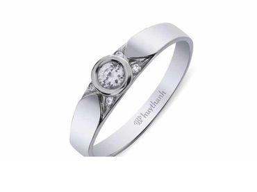 Nhẫn cưới La Nuit NC 377 - Huy Thanh Jewelry - Hình 3