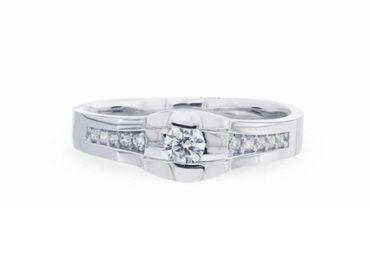 Nhẫn cưới La Nuit NC 391 - Huy Thanh Jewelry - Hình 3