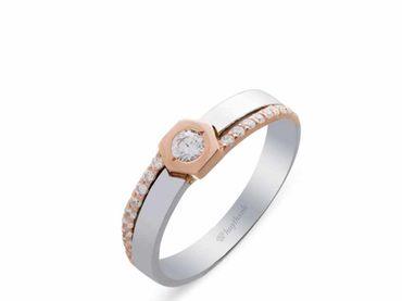 Nhẫn cưới La Nuit NC 410 - Huy Thanh Jewelry - Hình 3