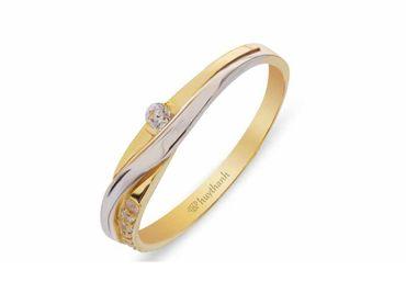 Nhẫn cưới La Nuit NC 424 - Huy Thanh Jewelry - Hình 3