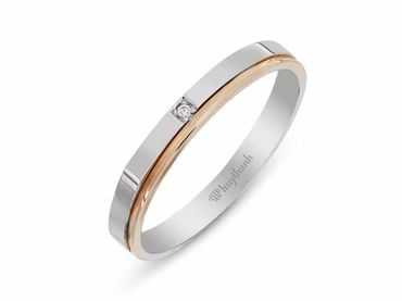 Nhẫn cưới Le Soleil NC 296 - Huy Thanh Jewelry - Hình 3