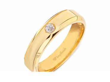 Nhẫn cưới Le Soleil NC 334 - Huy Thanh Jewelry - Hình 3