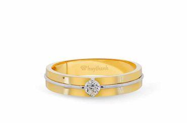Nhẫn cưới Le Soleil NC 335 - Huy Thanh Jewelry - Hình 3