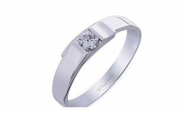 Nhẫn cưới Le Soleil NC 380 - Huy Thanh Jewelry - Hình 3