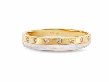 Nhẫn cưới Les Etoiles NC 298 - Huy Thanh Jewelry - Hình 3