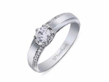 Nhẫn cưới La Nuit NC 315 - Huy Thanh Jewelry - Hình 4