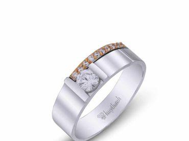 Nhẫn cưới La Nuit NC 330 - Huy Thanh Jewelry - Hình 4