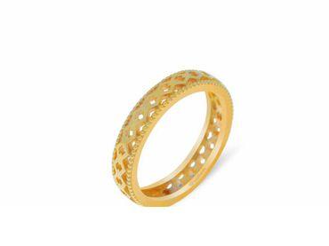 Nhẫn cưới Lisse trơn NC 450 - Huy Thanh Jewelry - Hình 6